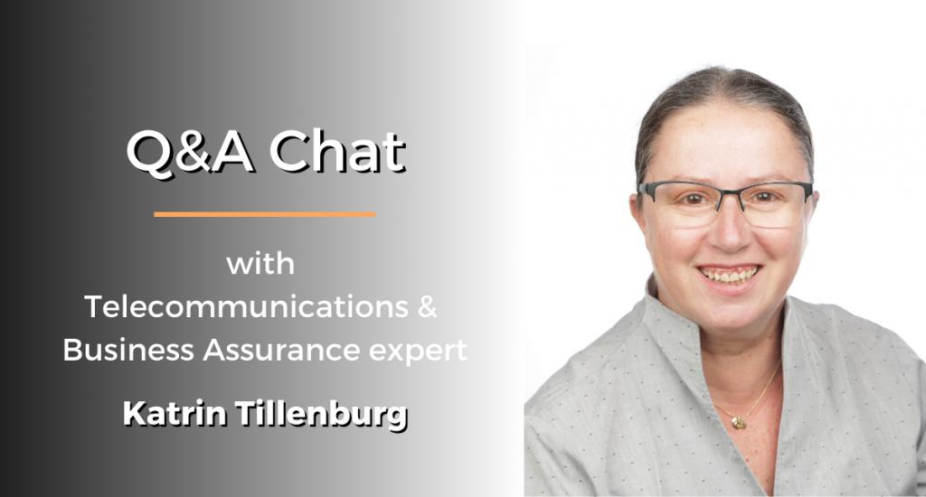 QA chat Katrin Tillenburg